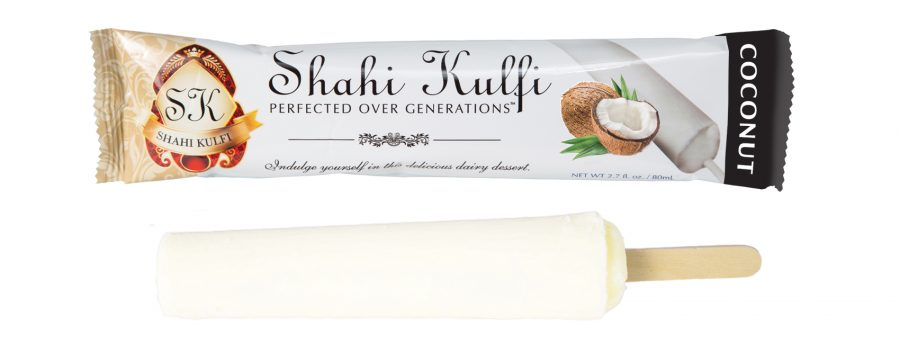 Coconut Flavored Kulfi