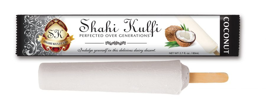 Coconut Kulfi with Wrapper