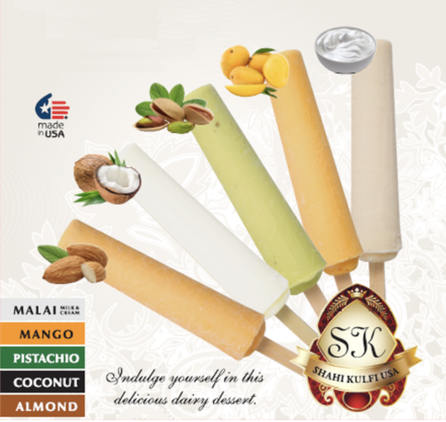 Kulfi Flavors - Event Dessert Catering