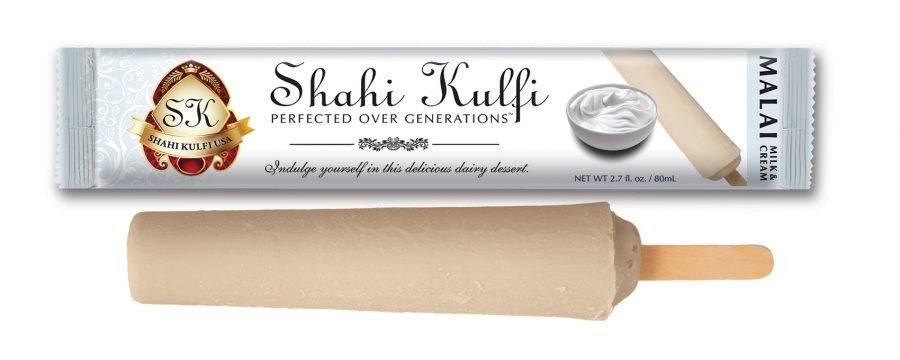 Malai Kulfi with Wrapper